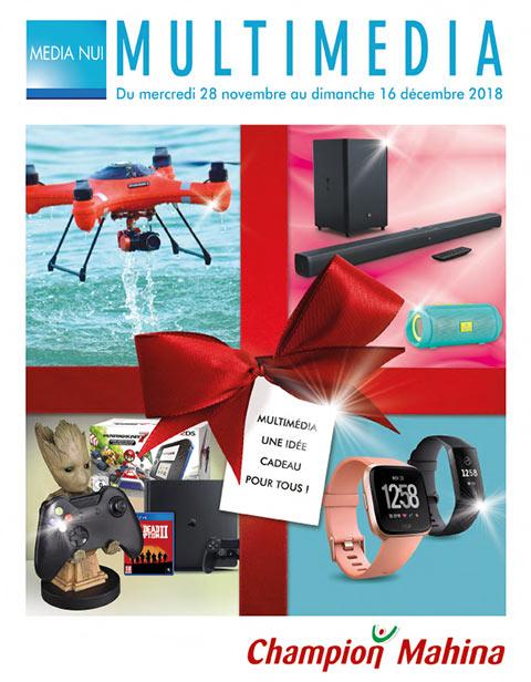 Catalogue Champion - Multimédia - Du mercredi 28 novembre au 16 décembre 2018