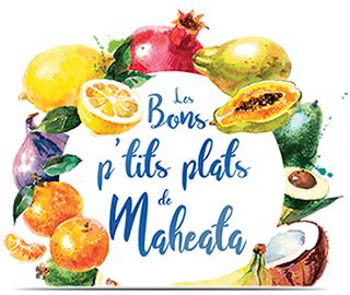 Logo - Les bons petits plats de Maheata avec Champion Tahiti