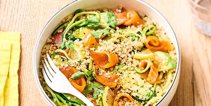 Salade gourmande de quinoa