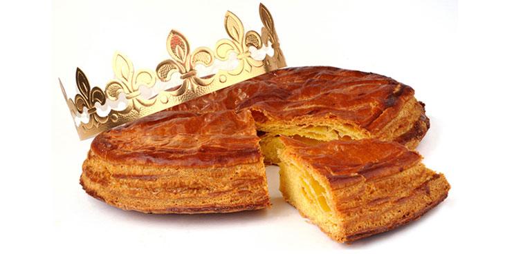Galette des rois à la pomme des Bons p'tits plats de Maheata