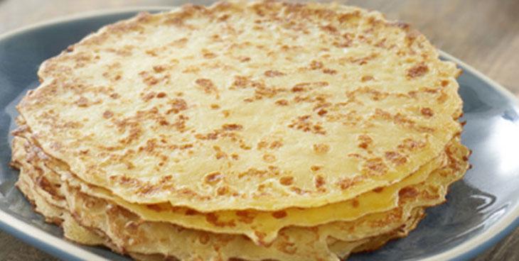 Mille feuilles de crêpes pour la Chandeleur Le Bons p'tits plats de Maheata