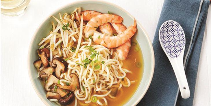 Soupe chinoise des Bons p'tits plats de Maheata