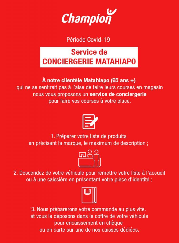Conciergerie pour les Matahiapo