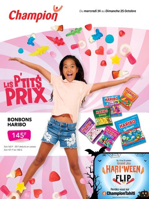 Catalogue Champion - Les p'tits prix - Du mercredi 14 au dimanche 25 octobre